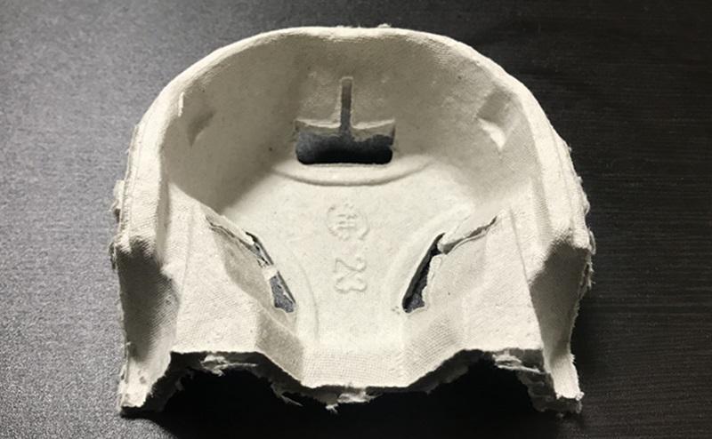 マクドナルド配達時の厚紙ドリンクカップホルダー